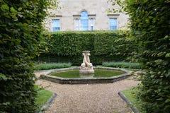 Giardino britannico alla Camera di Harewood, Leeds, West Yorkshire, Regno Unito Fotografie Stock Libere da Diritti