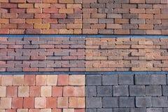 Giardino che pavimenta i blocchi Immagini Stock Libere da Diritti