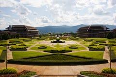 Giardino in chiangrai, a nord della Tailandia Immagini Stock Libere da Diritti