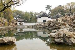 Giardino classico cinese Fotografie Stock Libere da Diritti