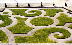 Giardino convenzionale francese Fotografie Stock Libere da Diritti