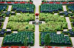 giardino convenzionale Loire Valley della Francia Fotografia Stock Libera da Diritti