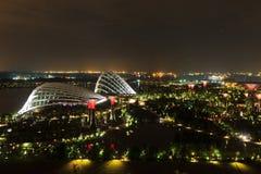 Giardino dalla baia, Singapore fotografia stock libera da diritti