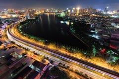 Giardino del bacino idrico della riva del lago di Xiamen, Cina Fotografia Stock Libera da Diritti