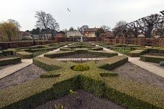 Giardino del castel di Rosenborg del copenahagen Immagini Stock Libere da Diritti