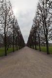 Giardino del castel di Rosenborg del copenahagen Immagine Stock Libera da Diritti