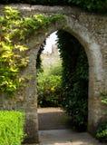 Giardino del castello Immagini Stock