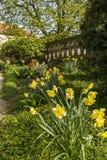 Giardino del castello Fotografia Stock Libera da Diritti