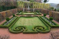 Giardino del castello di Dornburg Fotografia Stock Libera da Diritti