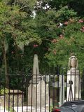 Giardino del cimitero Fotografia Stock