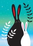 Giardino del coniglietto Fotografie Stock