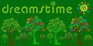 giardino del dreamstime e priorità bassa verde Fotografia Stock Libera da Diritti