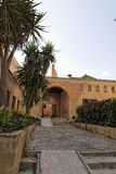 Giardino del Kasbah Oudayas Fotografia Stock