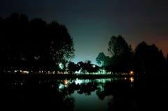 Giardino del lago fotografia stock