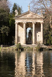 Giardino del Lago in Rome Italy Lake Stock Image