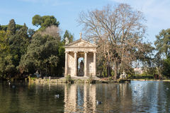 Giardino del Lago in Rome Italy Lake Stock Photography