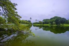 Giardino del lago, Taiping Immagini Stock