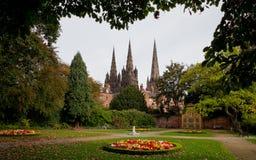 Giardino del memoriale di Lichfield Fotografia Stock