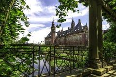 Giardino del Palazzo della Pace Immagini Stock Libere da Diritti