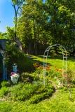 Giardino del palazzo di Jezeri Fotografia Stock Libera da Diritti
