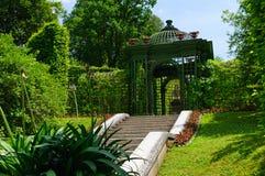 Giardino del palazzo di Linderhof in Germania Fotografie Stock