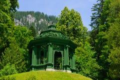 Giardino del palazzo di Linderhof in Germania Immagine Stock Libera da Diritti