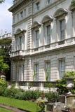 Giardino del palazzo di rinascita Immagine Stock Libera da Diritti