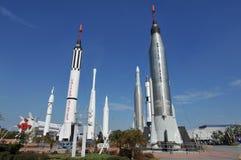 Giardino del Rocket della NASA Fotografia Stock Libera da Diritti