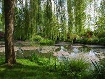 Giardino del `s di Claude Monet Fotografia Stock Libera da Diritti