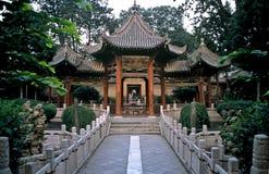 Giardino del tempiale in Xian, Cina Fotografie Stock Libere da Diritti