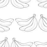 Giardino delizioso - fondo delle banane Immagine Stock