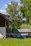 giardino dell'annata del cottage immagini stock