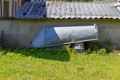 giardino dell'annata del cottage fotografia stock
