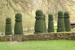 Giardino dell'ars topiaria, Hessenpark Germania Immagini Stock