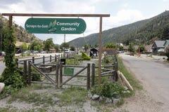 Giardino della Comunità del Residuo--suolo Fotografia Stock
