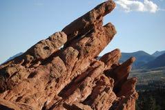 Giardino della formazione rocciosa dei dei Fotografie Stock