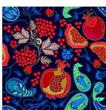 Giardino della frutta di estate illustrazione vettoriale