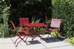 giardino della mobilia Fotografie Stock