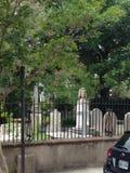 Giardino della pietra tombale Immagine Stock