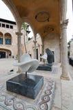 Giardino della scultura di Museu marzo Fotografia Stock