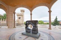 Giardino della scultura di Museu marzo Immagini Stock Libere da Diritti