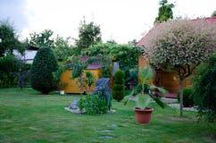 Giardino della sorgente Fotografie Stock