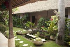 Giardino della villa Immagini Stock Libere da Diritti