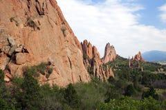 Giardino delle formazioni rocciose dei Fotografia Stock Libera da Diritti