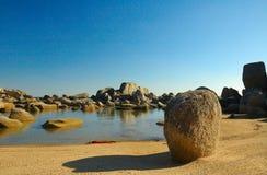 Giardino delle pietre. Immagine Stock Libera da Diritti