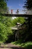 Giardino di Alnwick Fotografie Stock Libere da Diritti