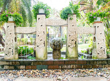 Giardino di balinese Immagine Stock