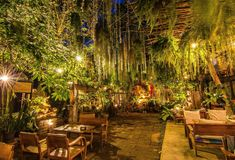 Giardino di Beautilful in Chiang Mai thailand Fotografie Stock