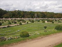 Giardino di Diana de Poitiers fotografie stock