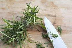 Giardino di erba organico Fotografia Stock Libera da Diritti